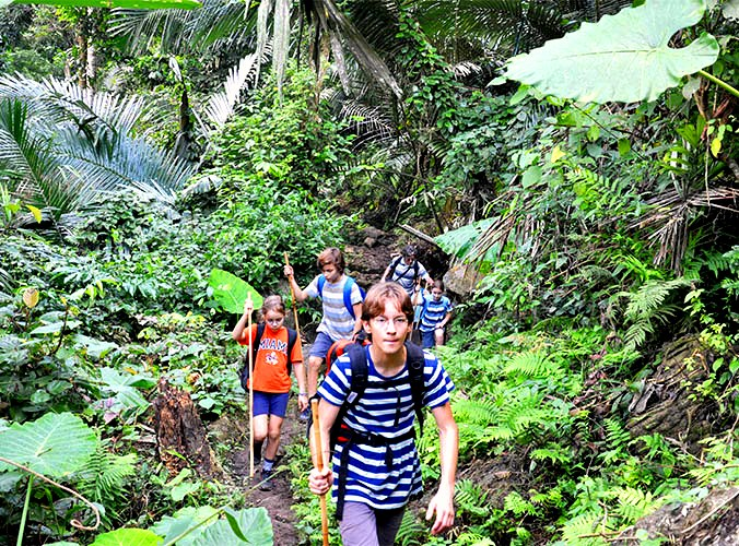 Trekking in Ba Be National Park